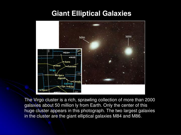 Giant Elliptical Galaxies