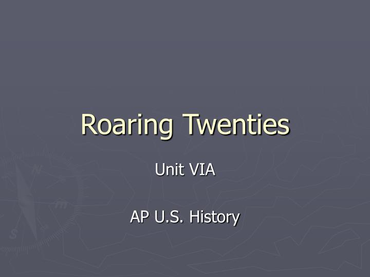 an introduction to the history of the roaring twenties in the united states - introduction to the roaring twenties should the united states get involved library of congress life history link.