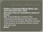 answers to homework1