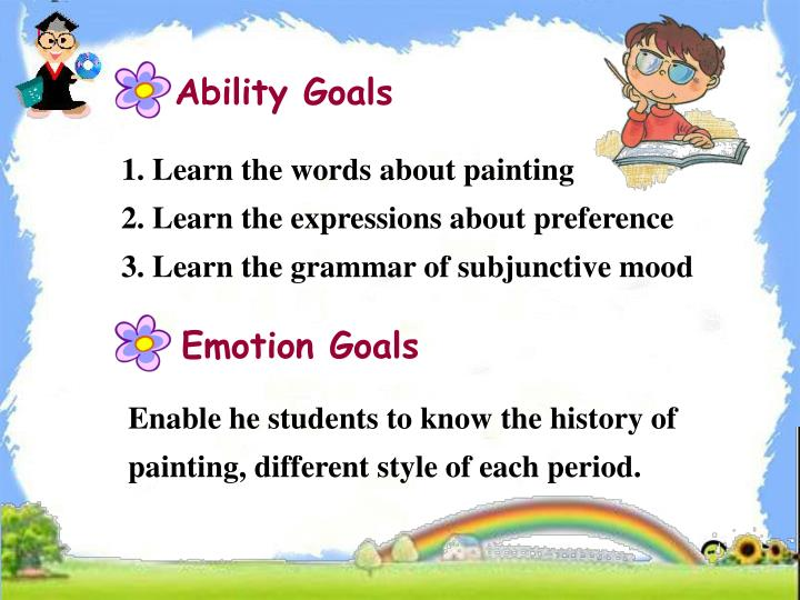 Ability Goals