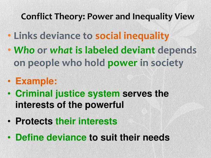 conflict theorists view the criminal justice system as