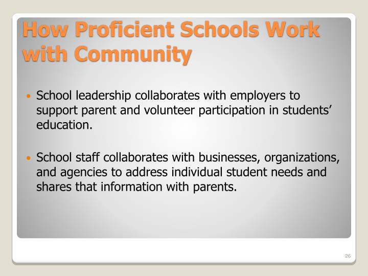 School leadership collaborates with employers to support parent and volunteer participation in students' education.