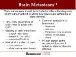 brain metastases 11