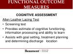 functional outcome measures2