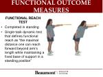 functional outcome measures3