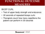 functional outcome measures6