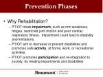 prevention phases