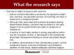 what the research says2