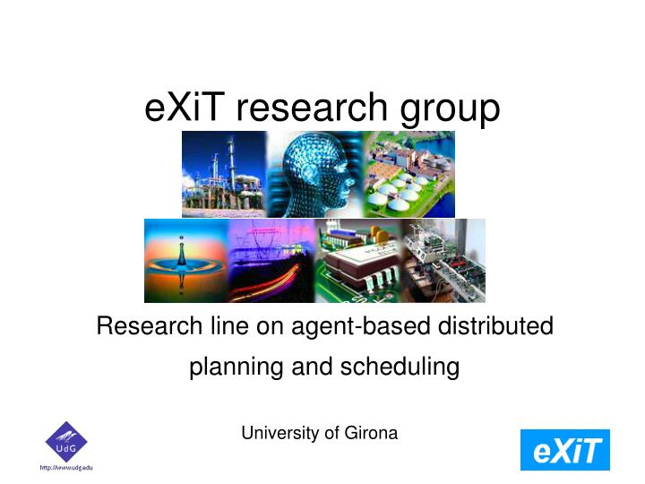 Exit research group
