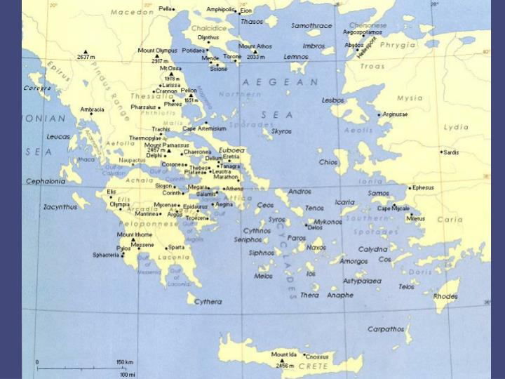 Ppt Map Of Ancient Greek Dialects Powerpoint Presentation Id 5391854