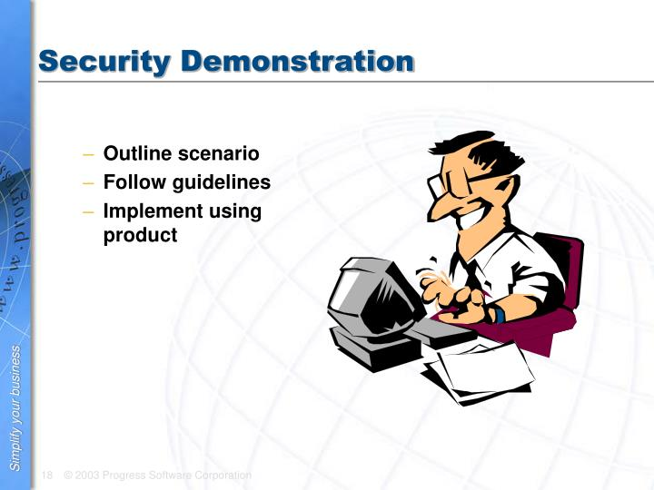 Security Demonstration