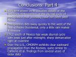 conclusions part 4