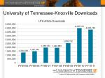 university of tennessee knoxville downloads