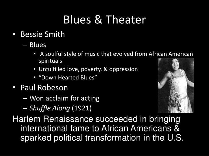 Blues & Theater