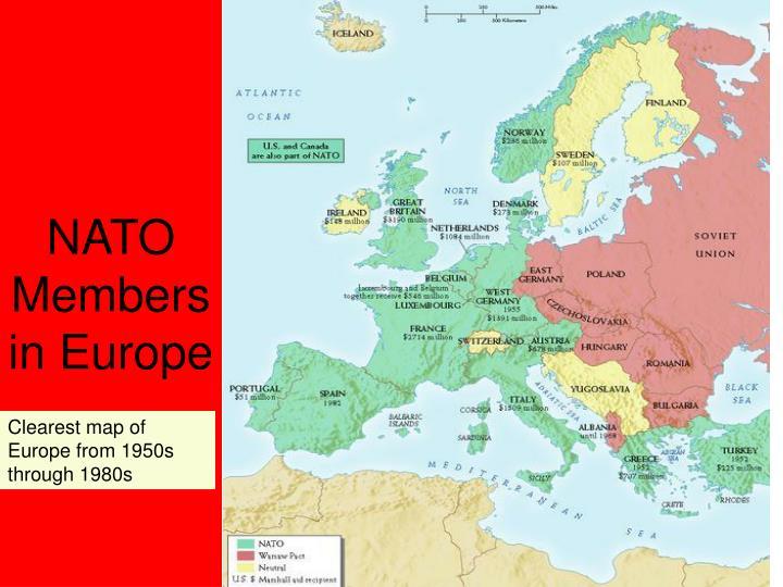NATO Members in Europe