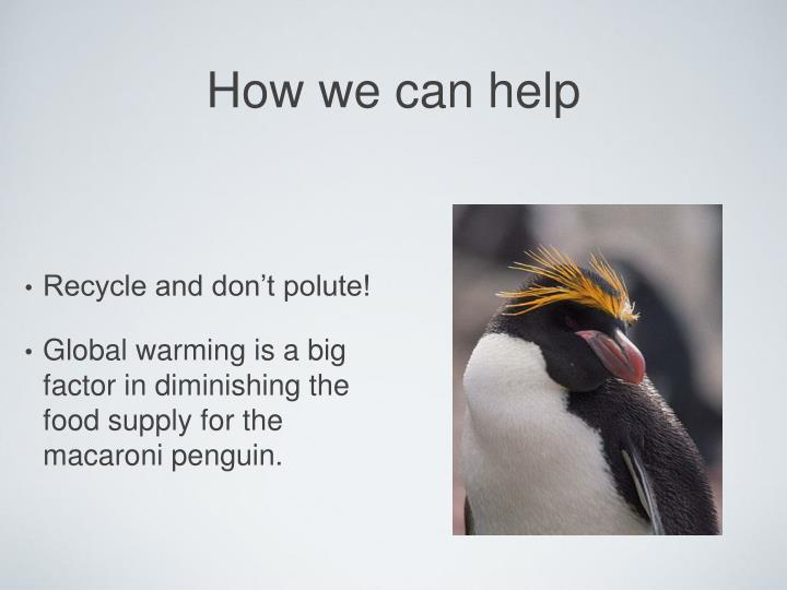How we can help