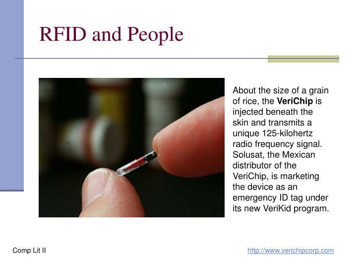 RFID and People