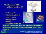 abordagem da dbp ventila o gentil na sp