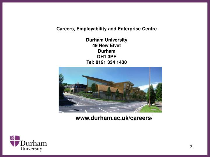 Careers, Employability and Enterprise Centre