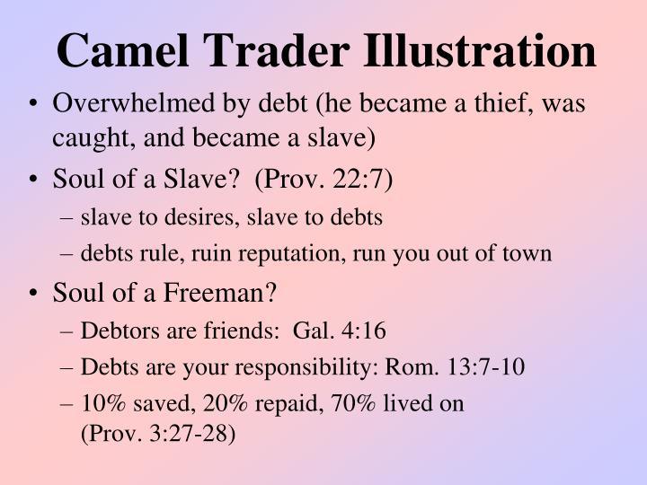 Camel Trader Illustration