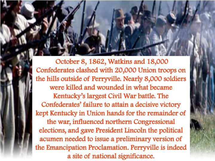perryville under fire the aftermath of kentuckys largest civil war battle civil war series