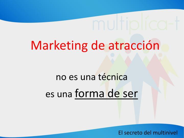 Marketing de atracción