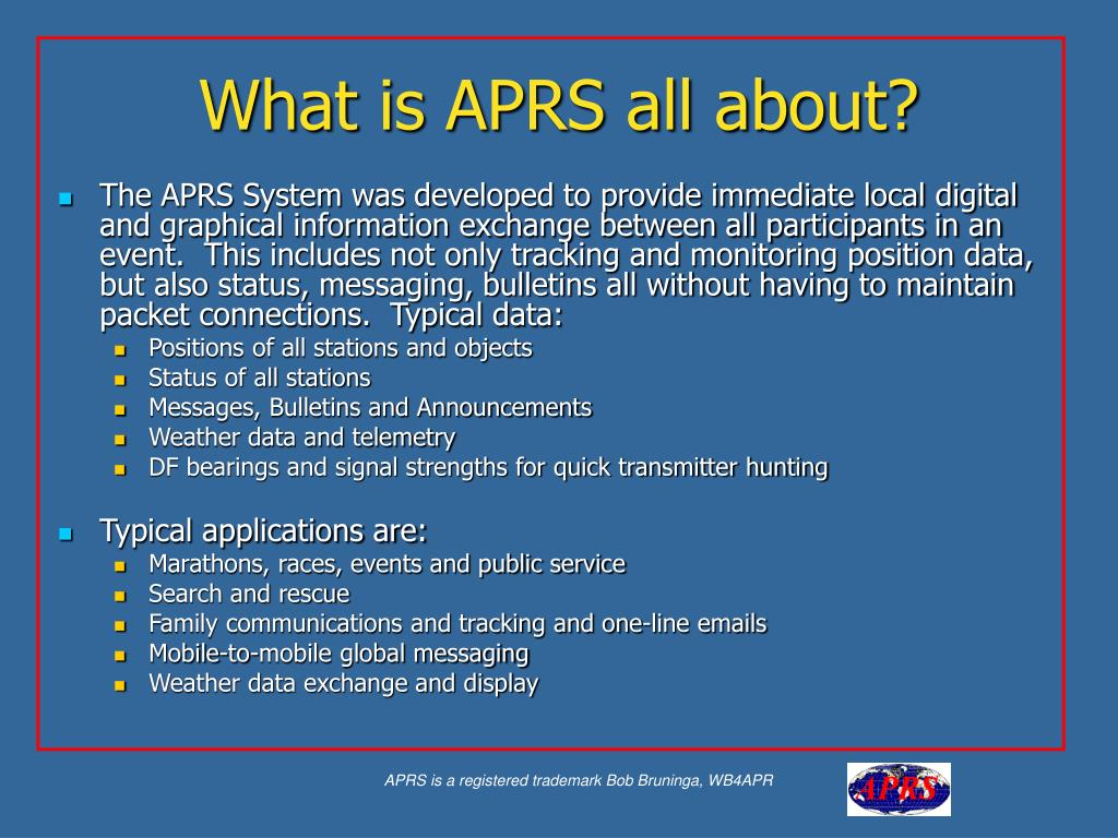 PPT - APRS PowerPoint Presentation - ID:5393408