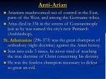 anti arian