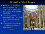 growth of the church