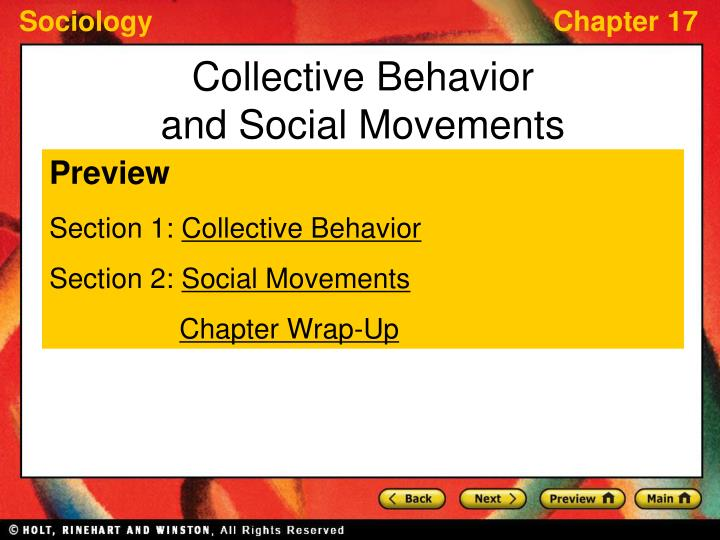 sociology ch 14 collective action social movements and social change 2018-01-26  introduction to sociology/social movements  to arms by suggesting and encouraging that people take action to solve the problem new social movement  change in louis e genevie, ed, collective behavior and social.