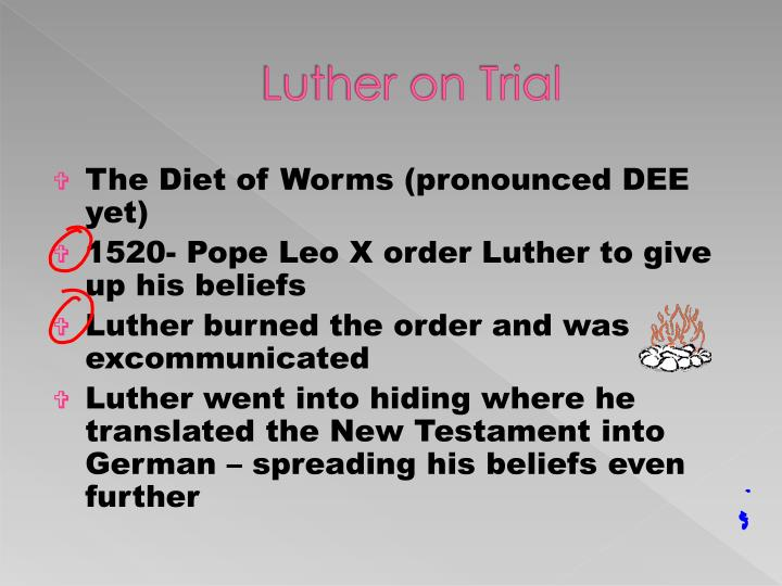 Luther on Trial