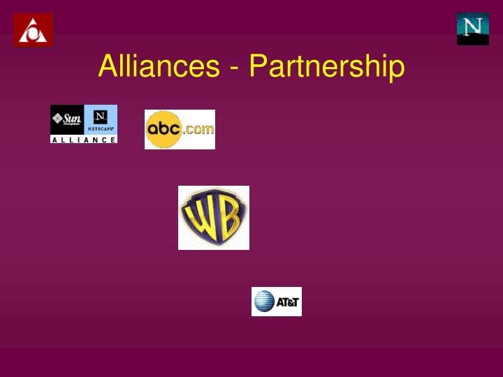 Alliances - Partnership