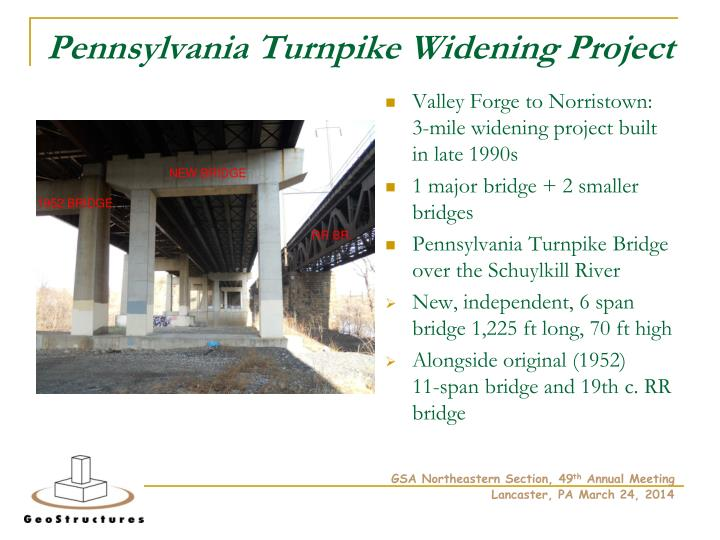 Pennsylvania Turnpike Widening Project
