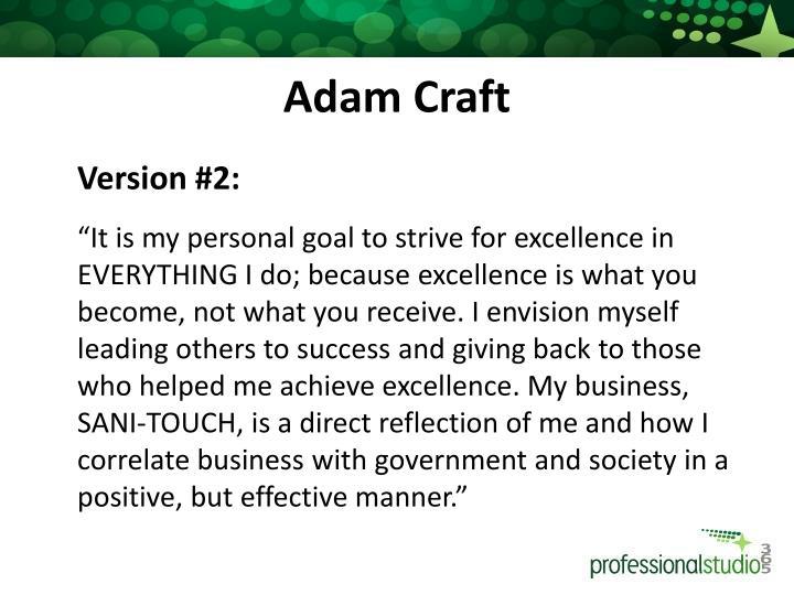 Adam Craft