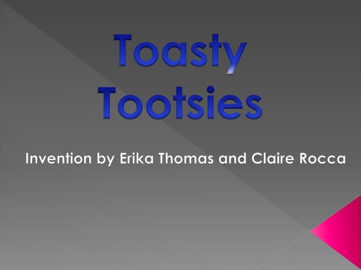 invention by erika thomas and claire rocca