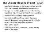 the chicago housing project 1966