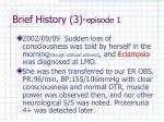 brief history 3 episode 1
