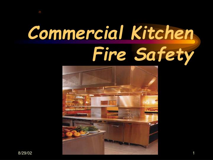 commercial kitchen fire safety n.