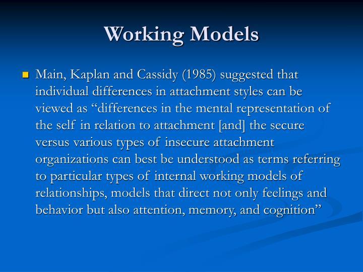 Working Models