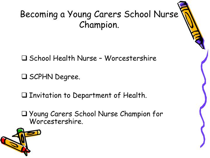 Becoming a young carers school nurse champion