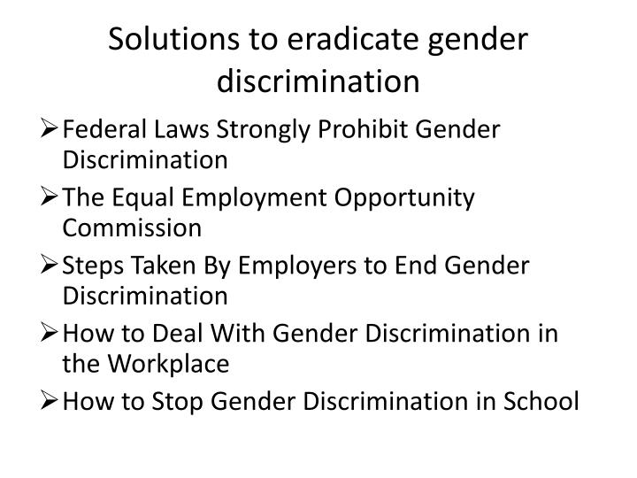 an analysis of title ix a legislation for prohibition of gender discrimination in schools C allows gender discrimination in education if it can be demonstrated to be an educational necessity d requires public school institutions to demonstrate equal average scores among male and female students on standardized tests.