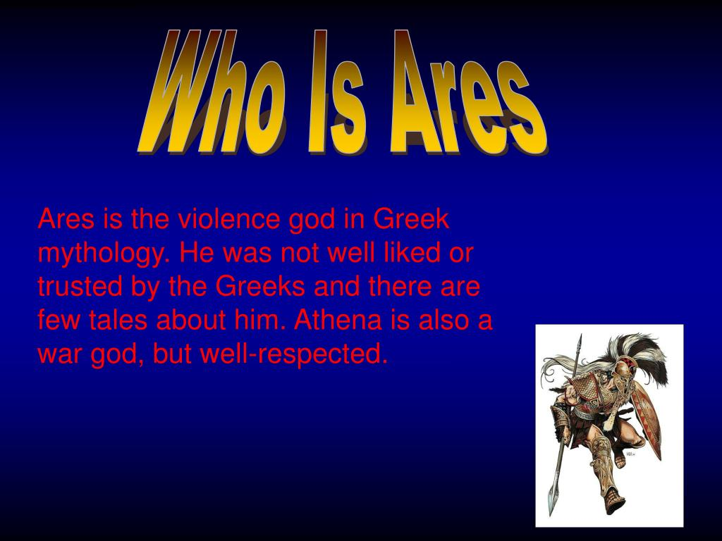 Ppt Ares Greek God Of War Powerpoint Presentation Free