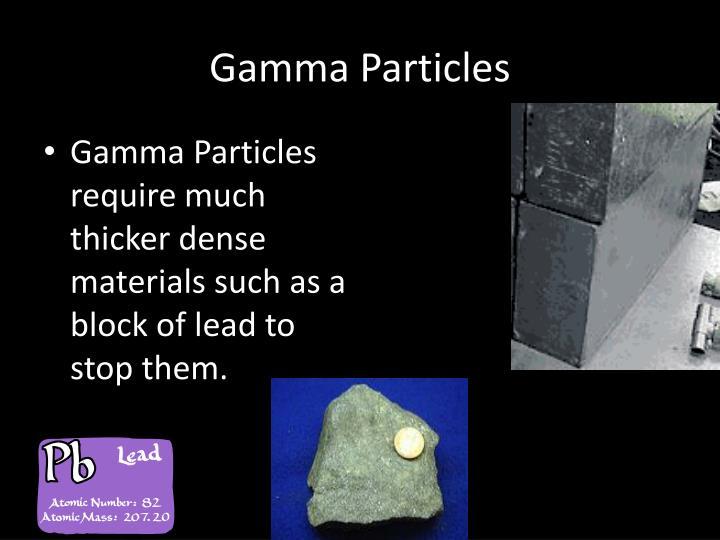 Gamma Particles