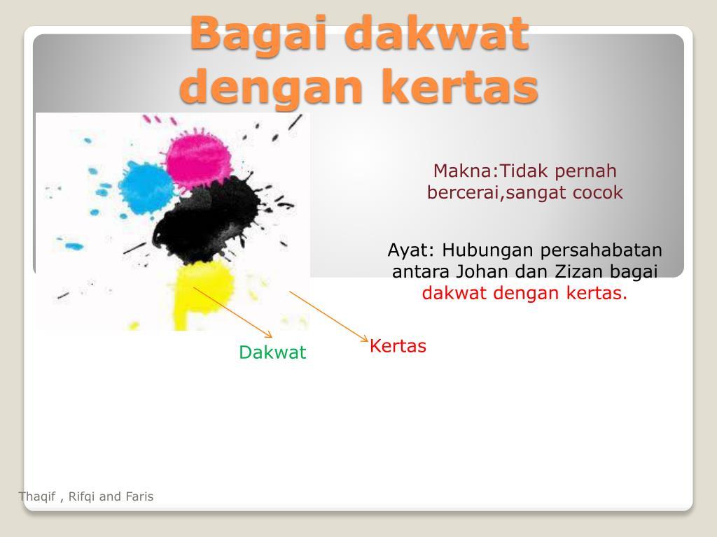 Ppt Bagai Dakwat Dengan Kertas Powerpoint Presentation Free Download Id 5396645