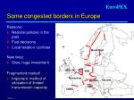 some congested borders in europe