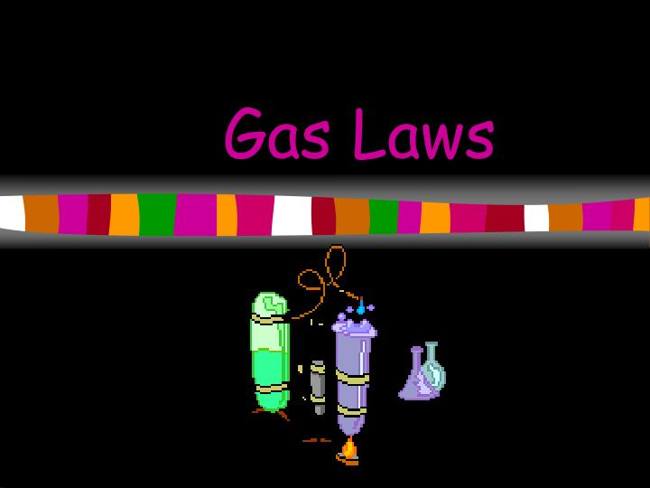 gas laws essay