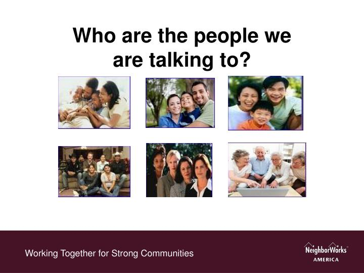 Working Together for Strong Communities