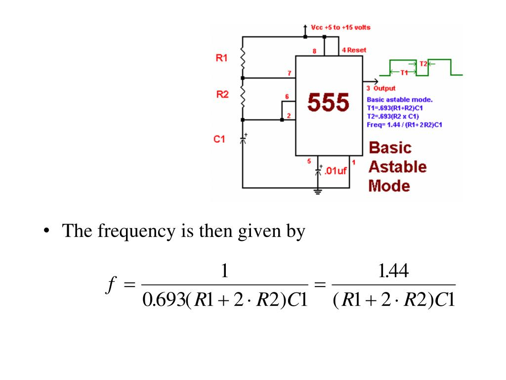 PPT - IC 555 TIMER PowerPoint Presentation - ID:5397277