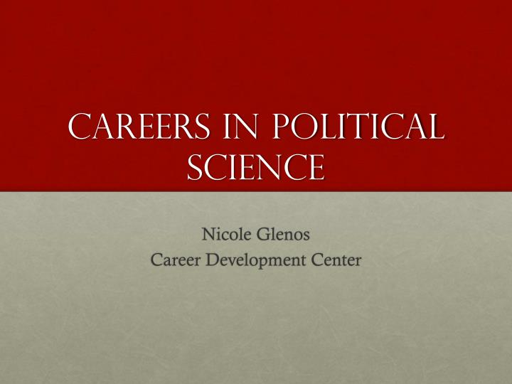 a career as a political scientist A political scientist typically needs to finish a master's degree or phd program in political science, public administration, or a related field in order to be accepted into a graduate program an aspirant needs undergraduate courses in writing, statistics, and political science.