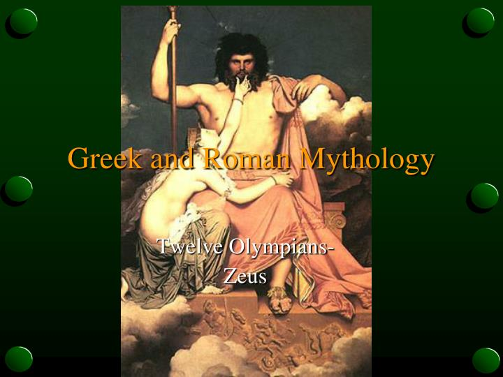 similarities between roman and greek mythology Mythology compartive essay: norse vs greek norse and greek myths have similarities the first and most noticeable difference between greek and roman mythology.